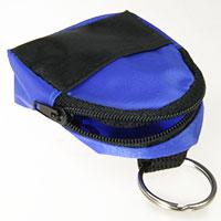 Schlüsselanhänger Minirucksack blau