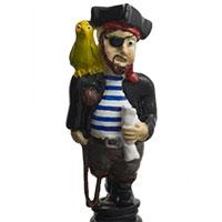 Wein-Stopfen -Pirat-