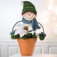 Gartenstecker Blumenfreunde - Junge -