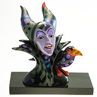 Figur von Disney by BRITTO - Maleficent Bust -