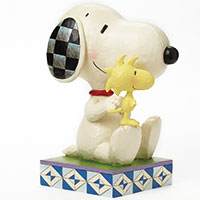 Snoopy - Große Figur mit Woodstock