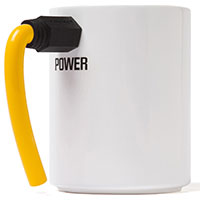 Wired Coffee Mug - Tasse gelb