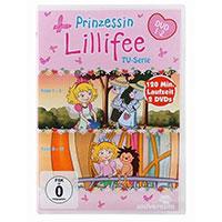 DVD Prinzessin Lillifee TV-Serie Folge 1 - 10