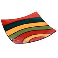 Handbemalte Keramik-Schale - Samba -