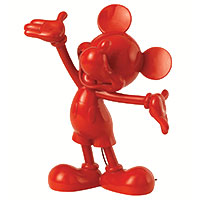 -Red Mickey Mouse- Disney Collection