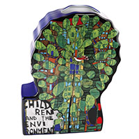Vasenobjekt von Friedensreich Hundertwasser