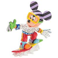 Snowboarding Mickey