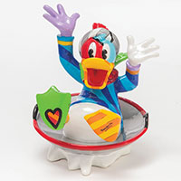 Donald in Disc Sled