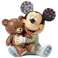 Mickey Mouse mit Teddybär
