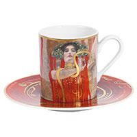 Gustav Klimt Espressotasse -Die Medizin-