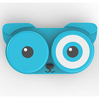 Kontaktlinsenbehälter -Doggy- blau