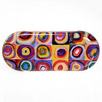 Brillenetui -Farbstudie- von Wassily Kandinsky