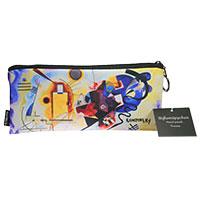 Kandinsky - Stiftemäppchen -Gelb-Rot-Blau-