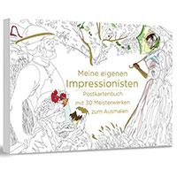 Meine eigenen Impressionisten - Postkartenbuch