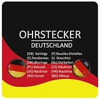 Ohrstecker -Deutschland-
