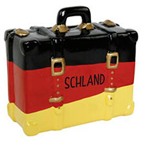 Spardose Koffer -Deutschland-