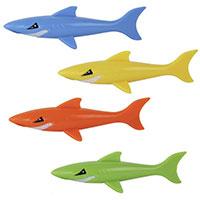 4er-Set Tauchspielzeug -Haie-