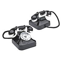 Tischuhr - Telefon -