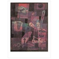 Künstlerpostkarte Klee -Analyse verschiedener Perversitäten-