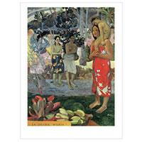 Künstlerpostkarte Gauguin -Gegrüßt seist Du, Maria-