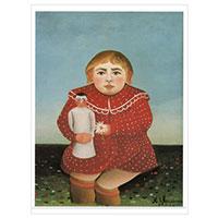 Henri Rousseau - Kind mit Puppe