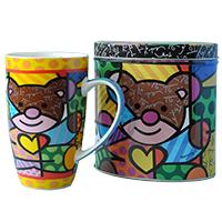 Romero Britto Kaffeebecher - Bär -