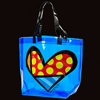 Romero Britto-Shopper - Herz