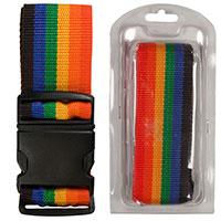 Koffergurt -Regenbogen-