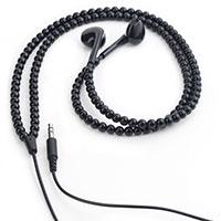 Ohrhörer -Black Beads-