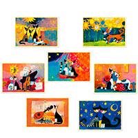 Künstler-Postkarten-Set: Rosina Wachtmeister
