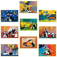 Wachtmeister Postkarten-Set