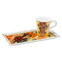 Vincent van Gogh Espresso Set - Die Sonnenblumen -