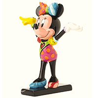 Romero Britto Figur -Minnie Mouse Gymnastics-