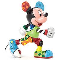 Romero Britto Figur -Mickey Mouse Track-
