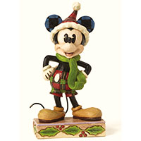 Jim Shore Figur -Merry Mickey Mouse-