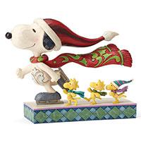 Skate Mates - Snoopy and Woodstock beim Schlittschuhlaufen