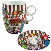 JAMES RIZZI Weihnachts-Set -Christmas with the family-