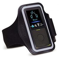 MP4-Player mit Armband und Schrittzähler (lime)