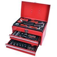 98-teiliges Werkzeugset im Metallkoffer