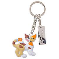Bezaubernder Schlüsselanhänger mit dem süßen Kätzchen Clara