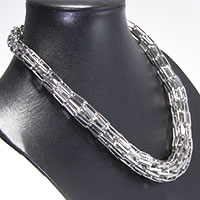 Collier - Tube of metal -