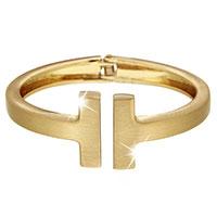 Goldfarbene Armspange - H -
