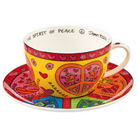 James Rizzi - Cappucinotasse - The Spirit of Peace