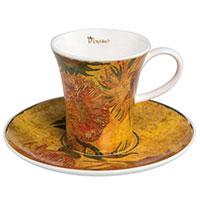 Vincent van Gogh Espressotasse - Sonnenblumen I -