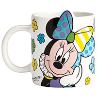 Romero Britto Becher - Minnie Mouse -