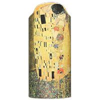 Gustav Klimt: Vase - Der Kuss -