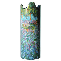 Claude Monet: Vase - Irisbeet in Monets Garten -