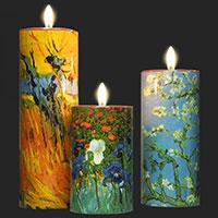 Van Gogh - 3-teiliges Teelichtset