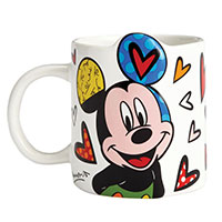Romero Britto Becher - Mickey Mouse -