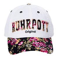 Robin-Ruth-Cap - Ruhrpott - mit Rosendekor